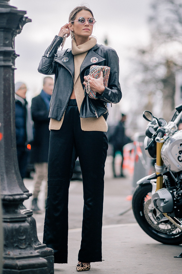 Street Style Fashion Week Paris Spring 2016