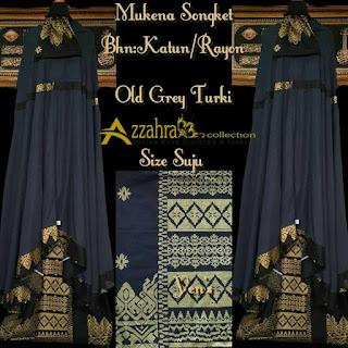 gambar teranyar Mukena Songket Prada Bali Paling Anyar  warna Hitam