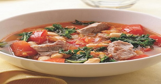 Pork-Bean Soup Recipe