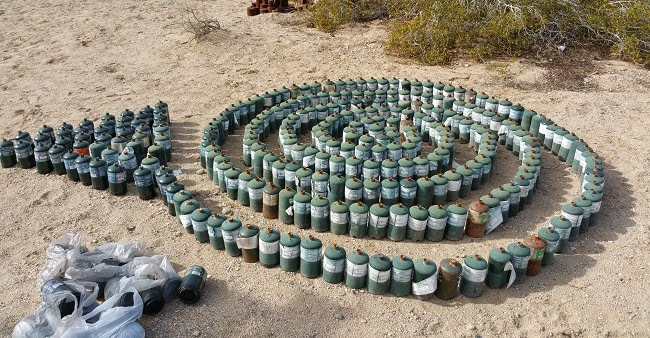 East Jesus art installation in Slab City near Salton Sea