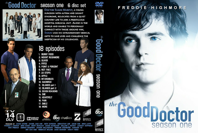 The Good Doctor Season 1 DVD Cover