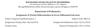 Mathematics Assignment