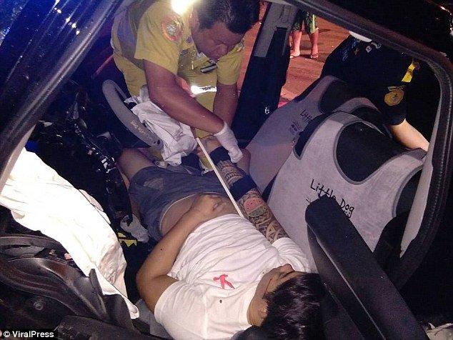 Woman having sex in cars