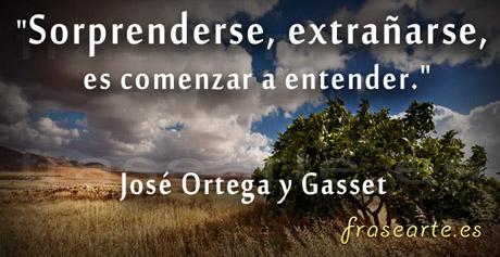 Frases de la vida, José Ortega y Gasset
