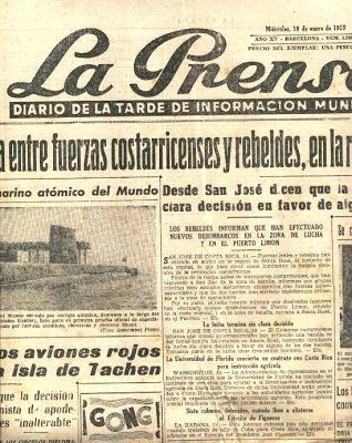 En la Prensa de Aquel Día: LA PRENSA (1941-1979)