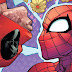 Beijo de Deadpool e Homem Aranha,  roubam a cena no globo de ouro 2017