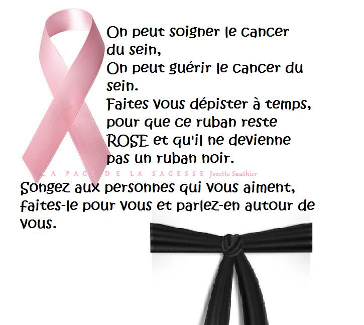 Citations Et Panneaux Facebook à Partager Rubans Du Cancer