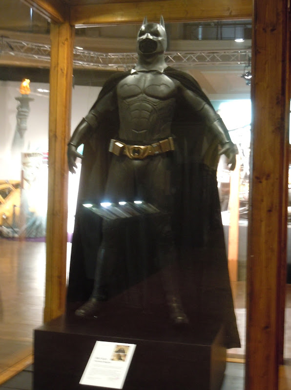 Batman Begins costume exhibit