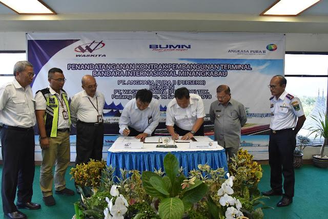 Bandara Internasional Minangkabau Diperluas Hingga 2 Kali Lipat Lebih