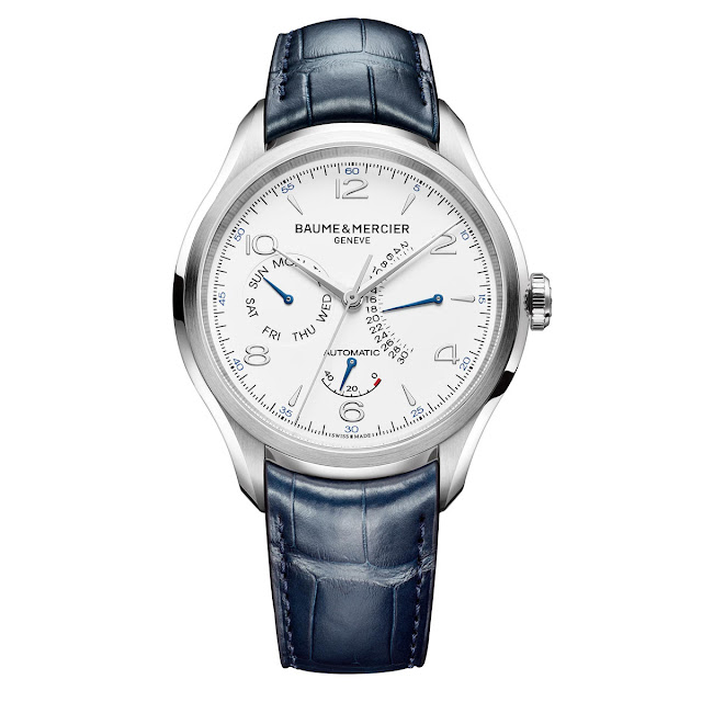 Baume & Mercier Clifton Power Reserve, Retrograde Day and Date (ref. M0A10449)
