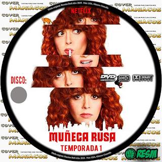 GALLETA MUÑECA RUSA - RUSSIAN DOLL - 2019 - TEMPORADA 1 [COVER DVD]