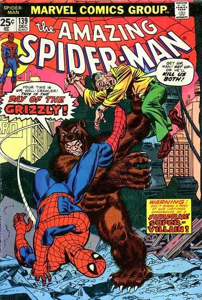 Amazing Spider-Man #139, The Grizzly
