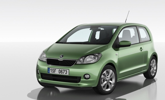 Skoda Citigo from the front