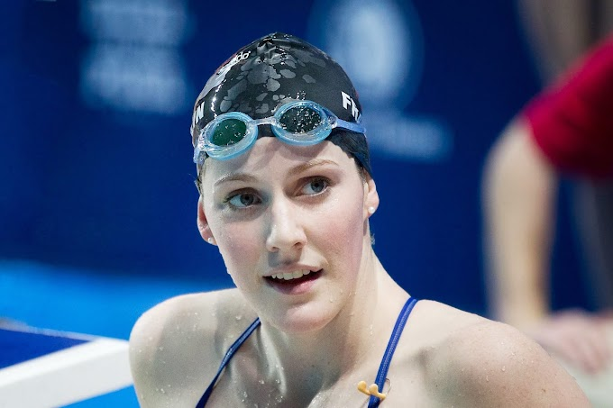 After shock retirement at 23, Missy Franklin finds peace, loves yoga and spirituality by Embracing Hinduism