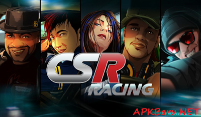 CSR Racing v3.6.0 Mod Apk+Data Terbaru