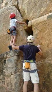 Escalada na Pedra da Mijona em Cuité
