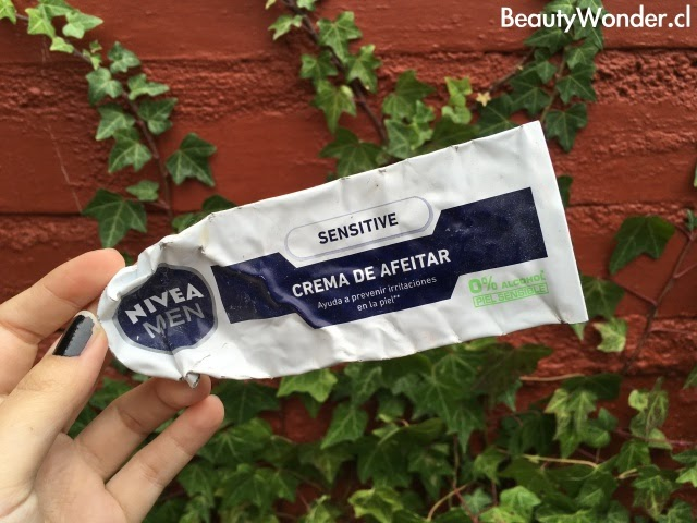 crema afeitar sensitive nivea review