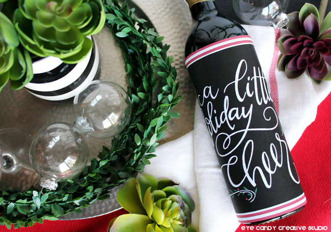 free bottle wrap, wine bottle art, free bottle wrap, hand lettered wrap