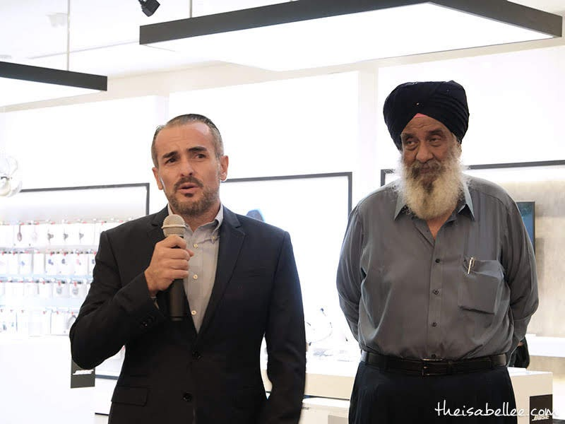 Christian Rojas, Market Development Leader from Bose, Southeast Asia & Korea, and Gurmukh Singh, Managing Director from Thakral Group