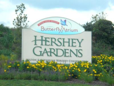 Hershey Gardens & Butterfly Atrium in Hershey Pennsylvania