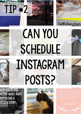 Instagram - This fun little app can't be scheduled, but there is a way to  schedule posts in another phone app! Find out how!