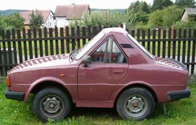 Carros bizarro