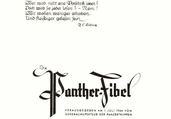 Pantherfibel Pdf