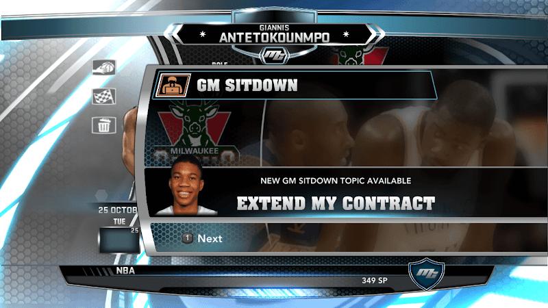 NBA 2k14 MyCareer Mod : Giannis Antetokounmpo - hoopsvilla