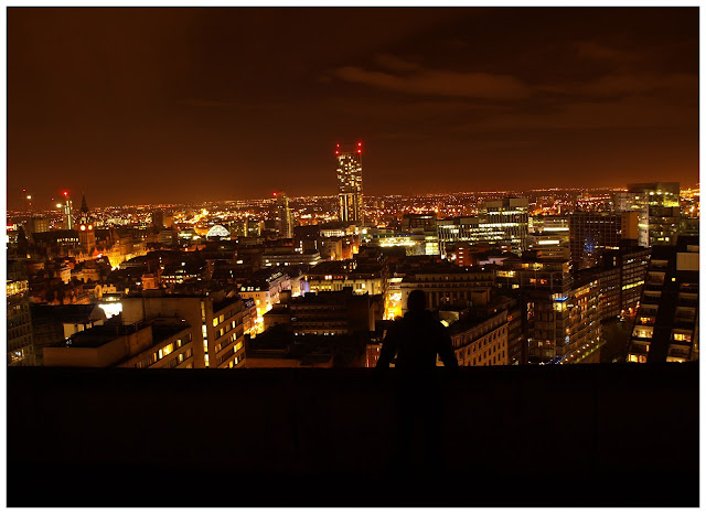 Premier inn, manchester, salford, urbex, highrise, explore, cityscape, view over manchester, manchester at night,