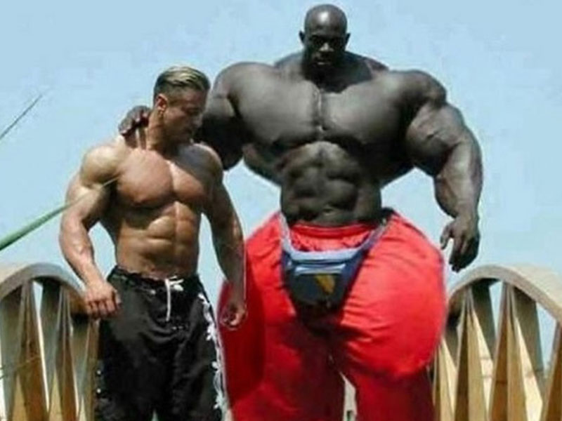 What are your favorite obviously photoshopped bodybuilders