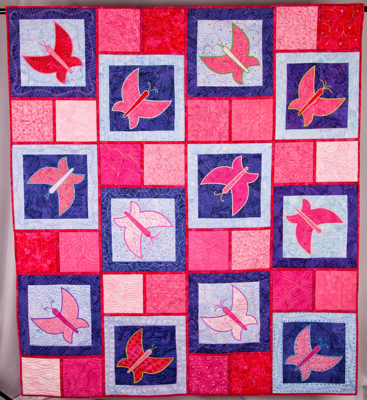 butterfly quilt | butterfly quilt pattern