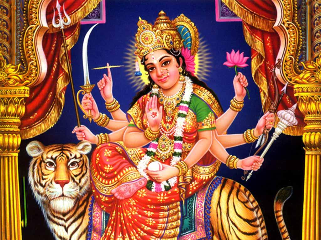 Mahishasura Mardini Stotram Lyrics Prayer to Goddess Durga