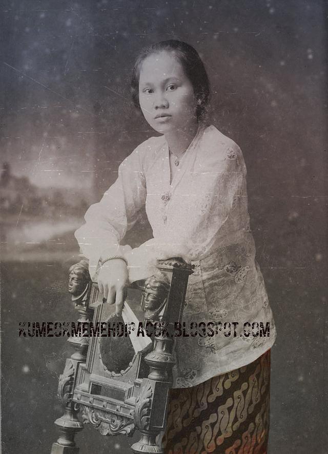 Foto Wanita Jawa Jaman Dulu