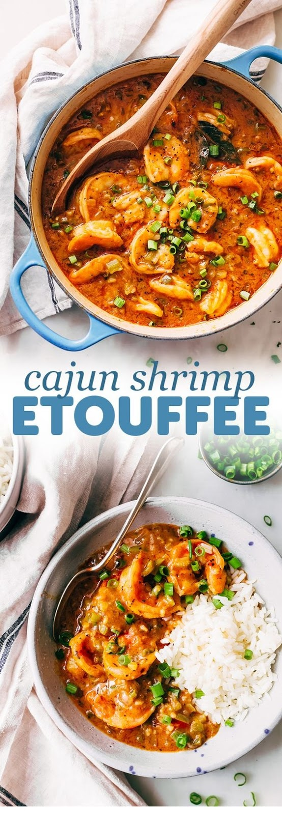 Cajun Shrimp Étouffée