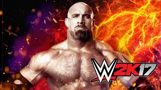 Goldberg WWE 2K17 HD Wallpaper 1920x1080