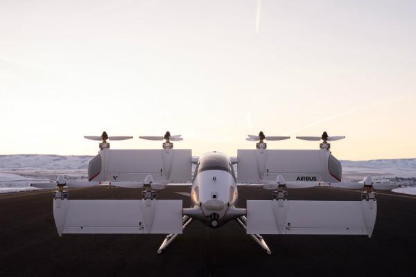 إيرباص تكشف عن سيارتها الطائرة Alpha Two