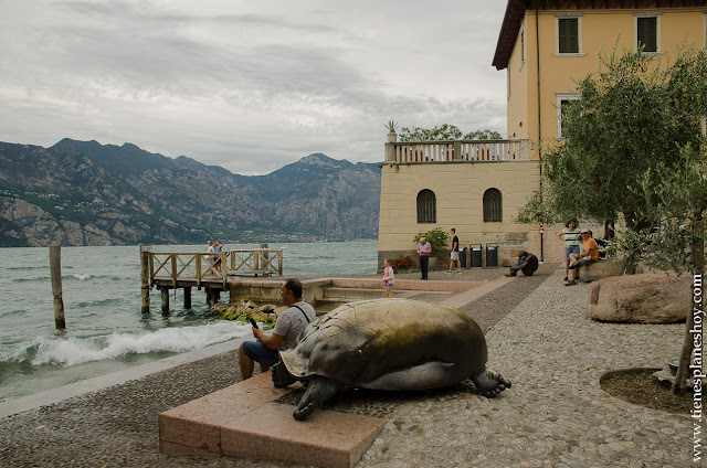 Malcesine pueblos encanto lago di Garda