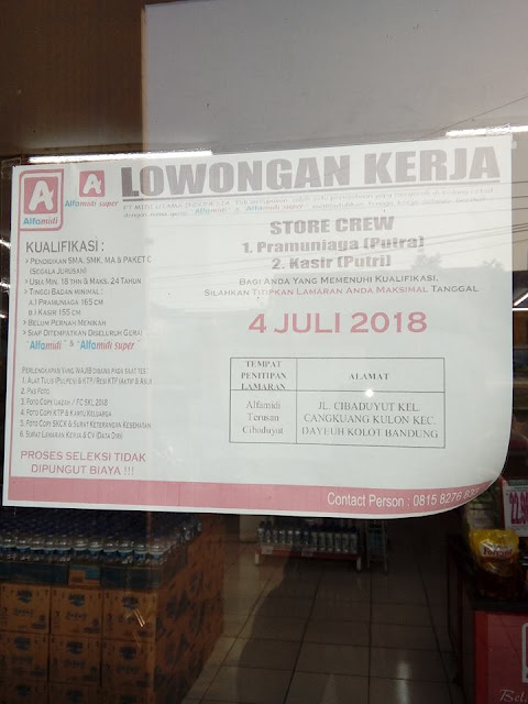 Lowongan Kerja Alfamidi Bandung