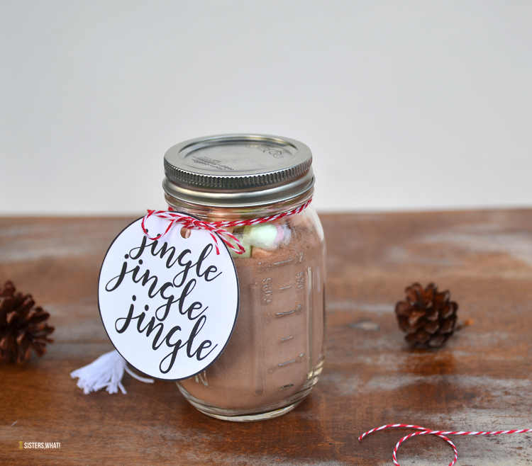 jingle Christmas sayings gift tags