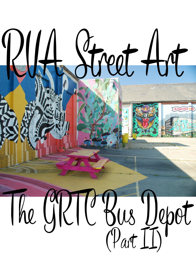RVA Street Art: The GRTC Bus Depot (Part II) | Yeti Crafts