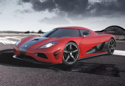 KOENIGSEGG AGERA R top 10 Fastest Cars in the World list