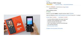 Buy Reliance JioPhone Amazon India