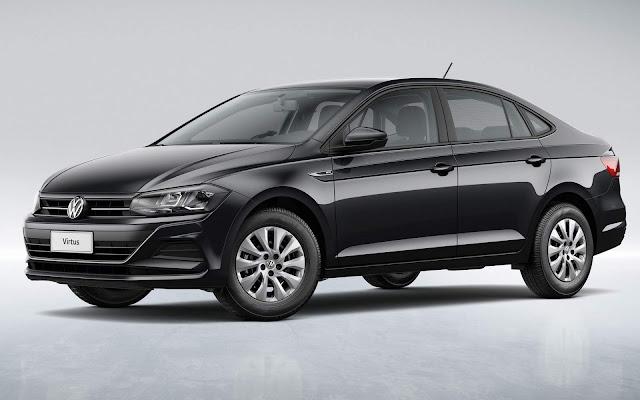 Volkswagen Virtus 2019 - taxi