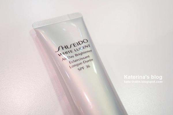 【保養】4 合 1 美白防曬多效乳霜 | SHISEIDO All Day Brightener : Katerina