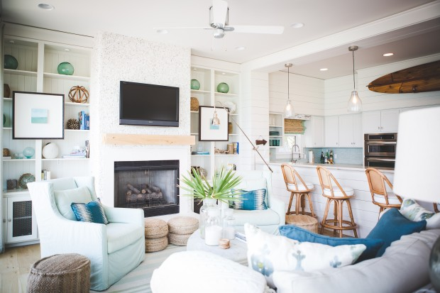 Modern Palm Boutique: Florida Beach House by Ashley ...