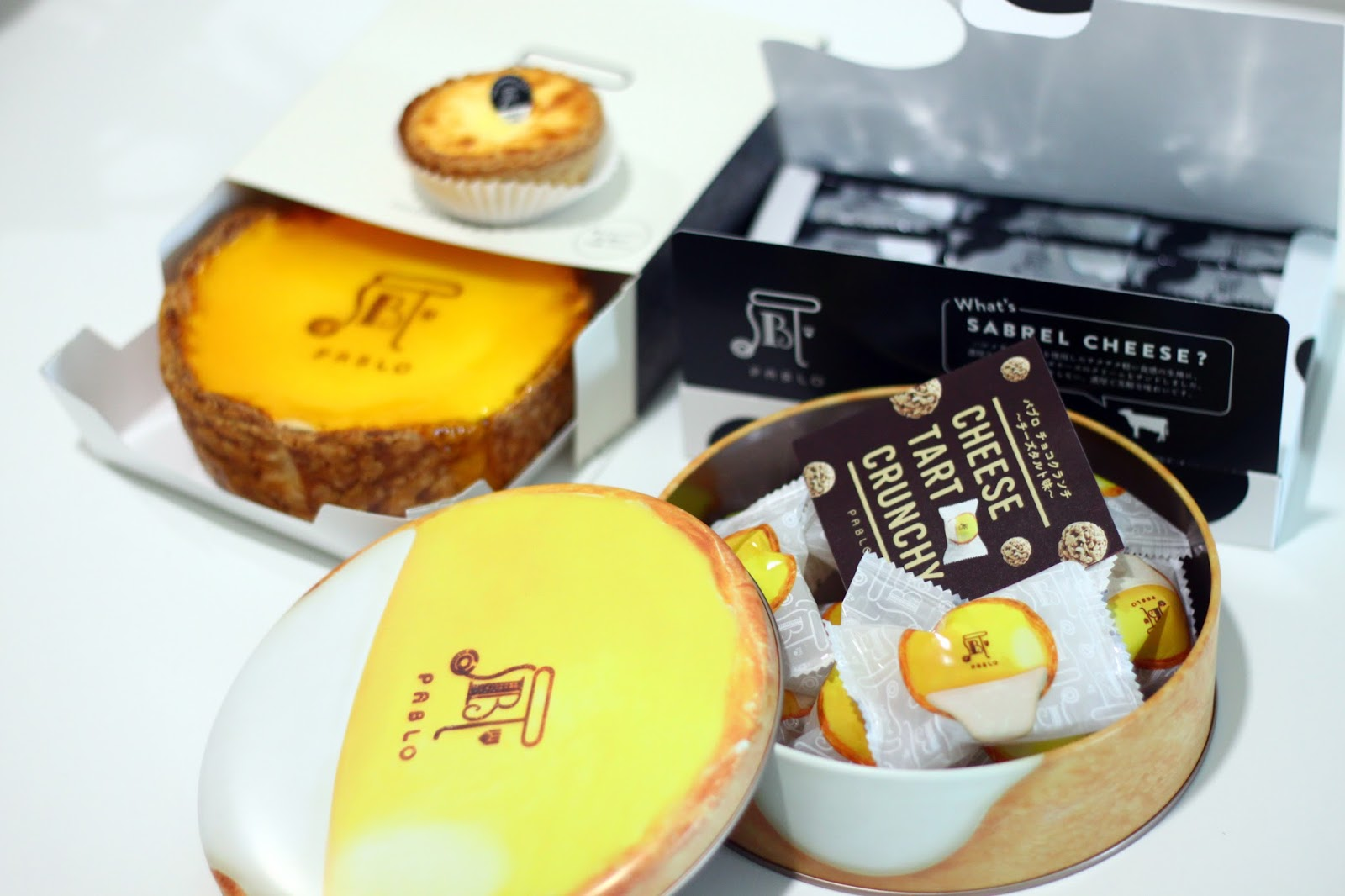 Pablo Japanese Cheese Tart 1 Utama Pj F I N D G A T S Sabrel Pablos Range Of Biscuits And Cookies This Is The Perfect Gift For Christmas Anyone That Enjoys Milk Cream Or