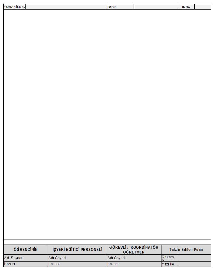 staj ödevi sayfa
