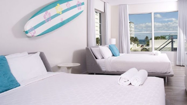 AQUA, Fort Lauderdale Boutique Hotel awaits you just beyond the setting sun, the surf's lullaby and grassy dunes.