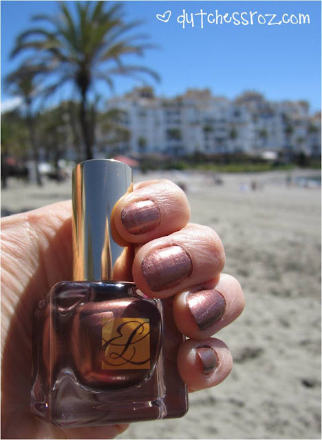 Nails+Bronze+Goddess Shimmering Bronze & when in Spain...