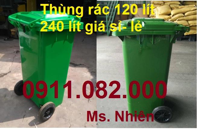 thùng rác giá siêu rẻ, thùng rác công cộng 120 L 240L giá thấp